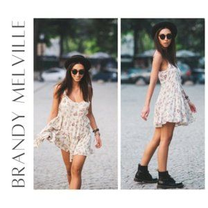 BRANDY MELVILLE Jada Dress, One Size (Small)